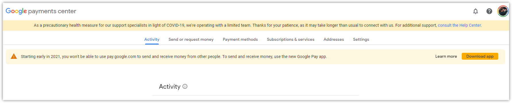 google pay send receive money