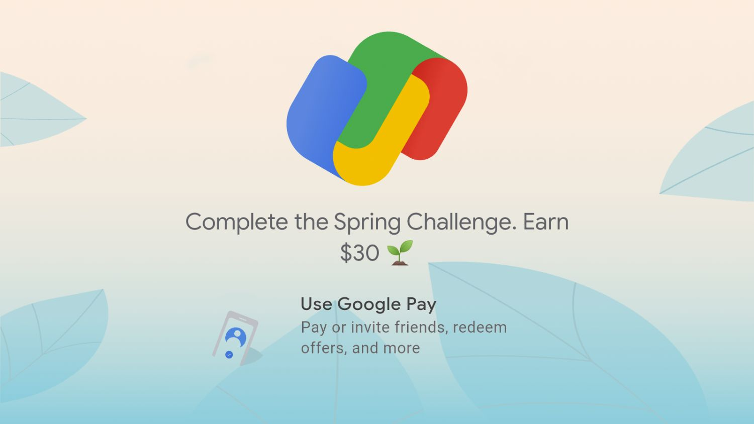 google pay spring challenge