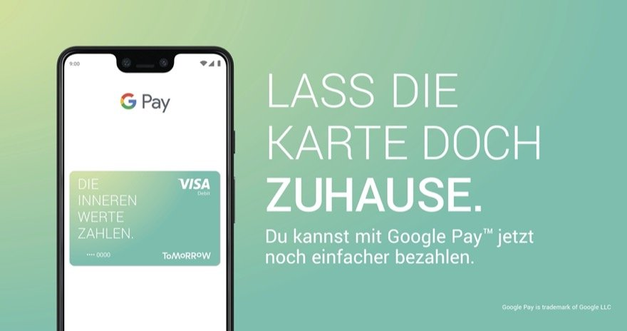 google pay tomorrow