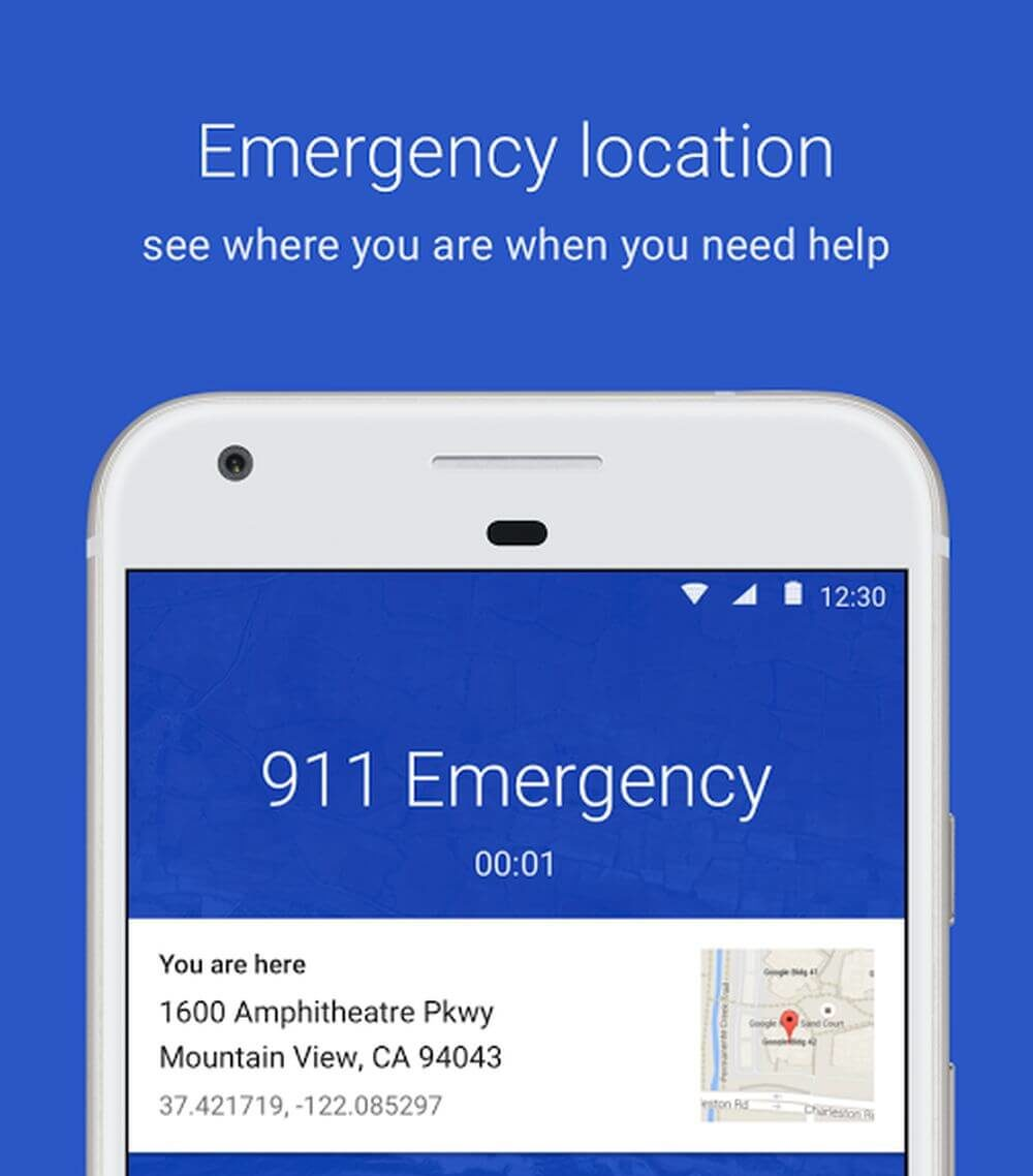 google phone emergency