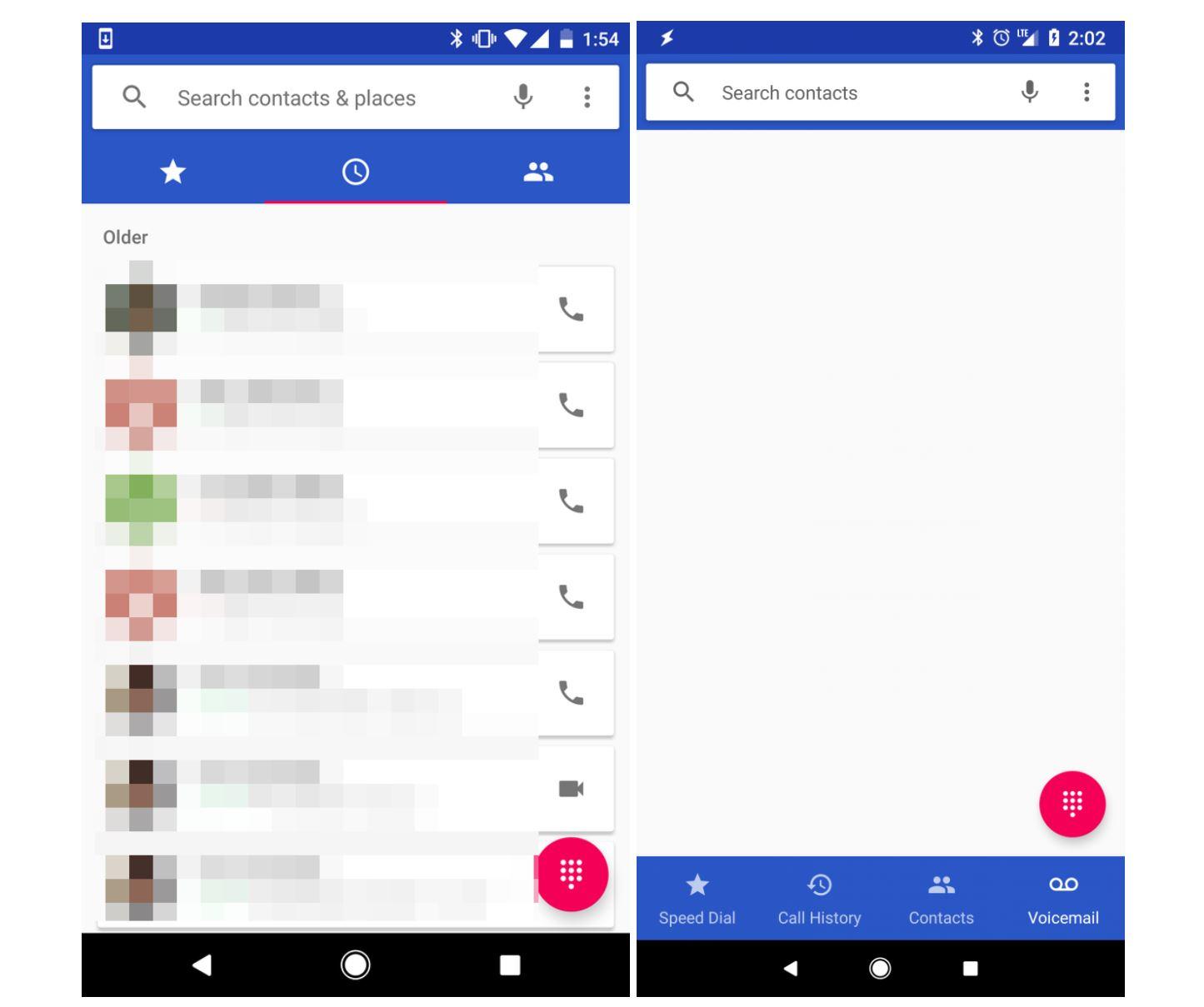 google phone navigation test