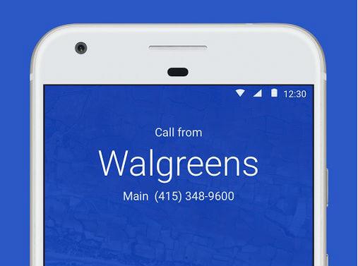 google phone symbol