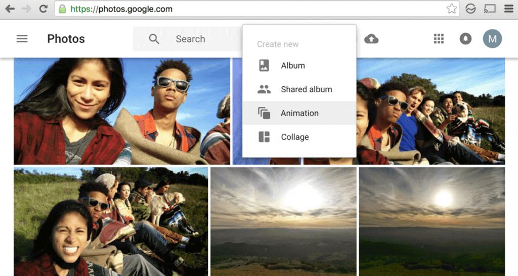 google photos collage