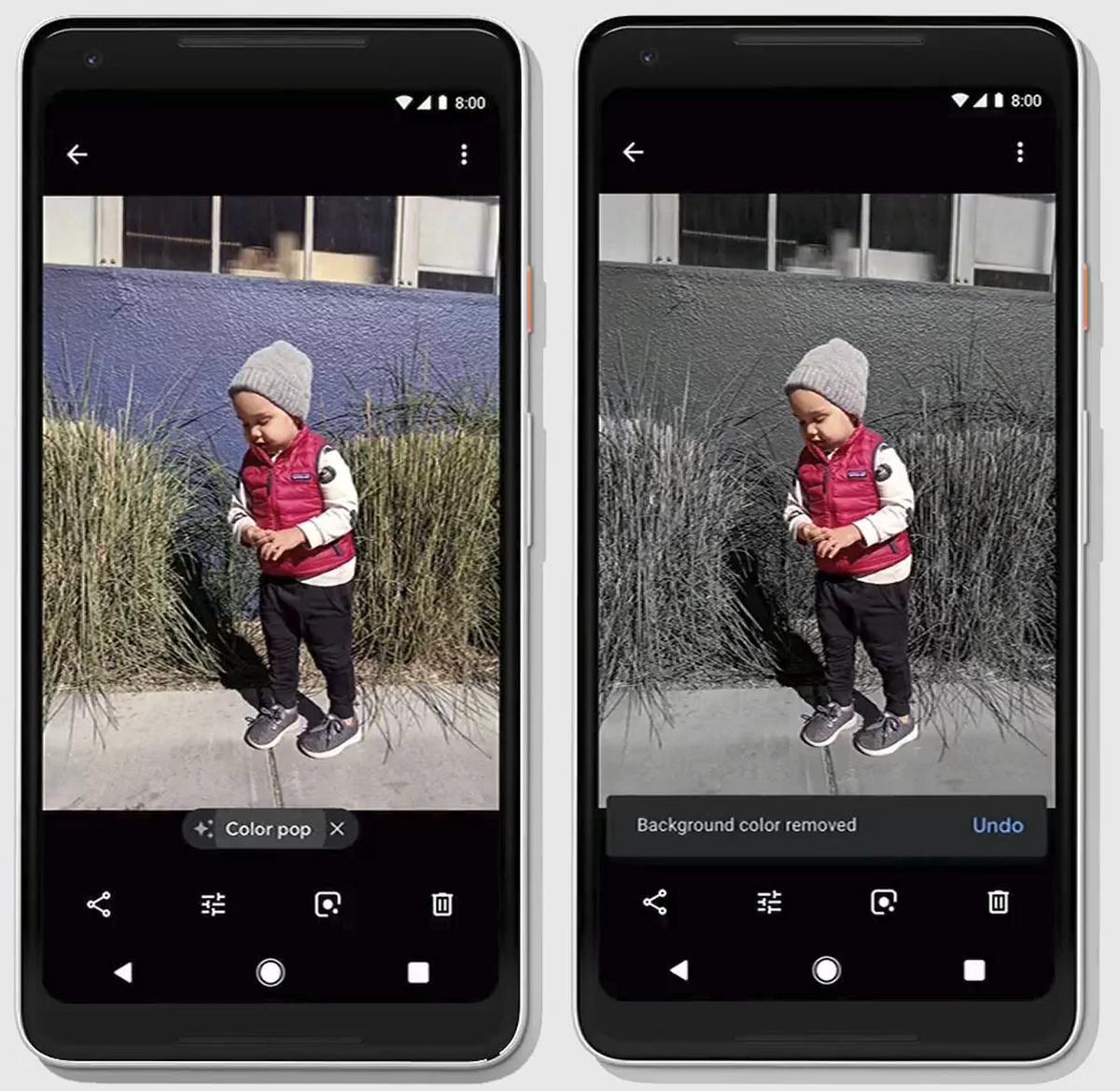 Google Photos Color Pop
