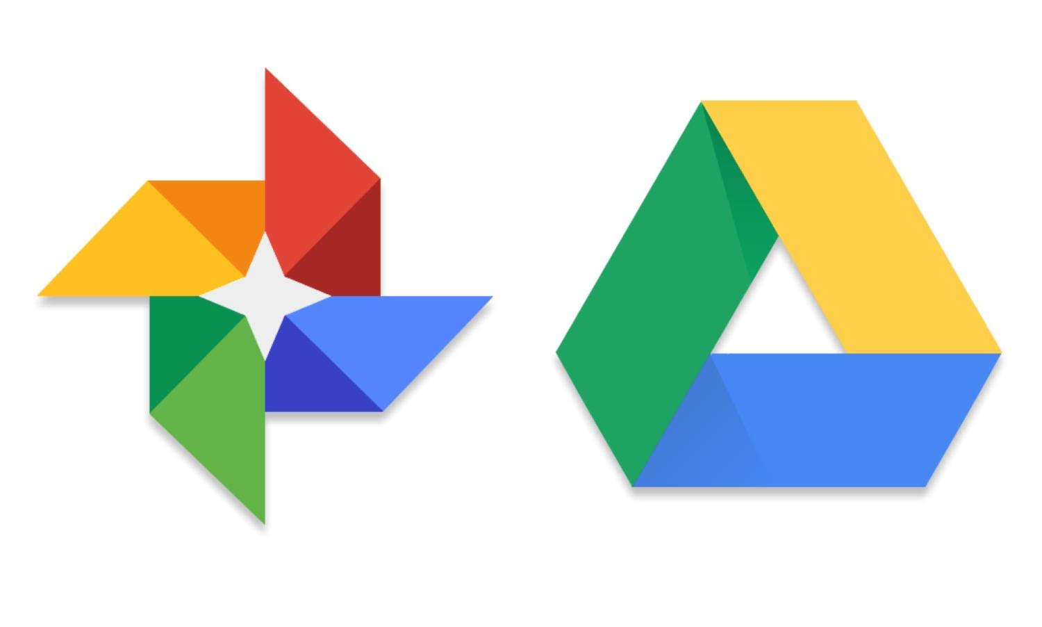 google photos google drive