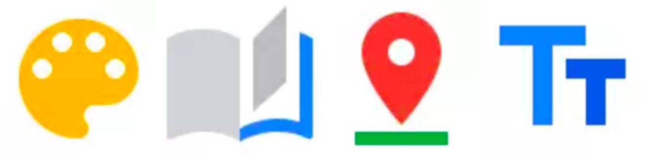 google photos icons
