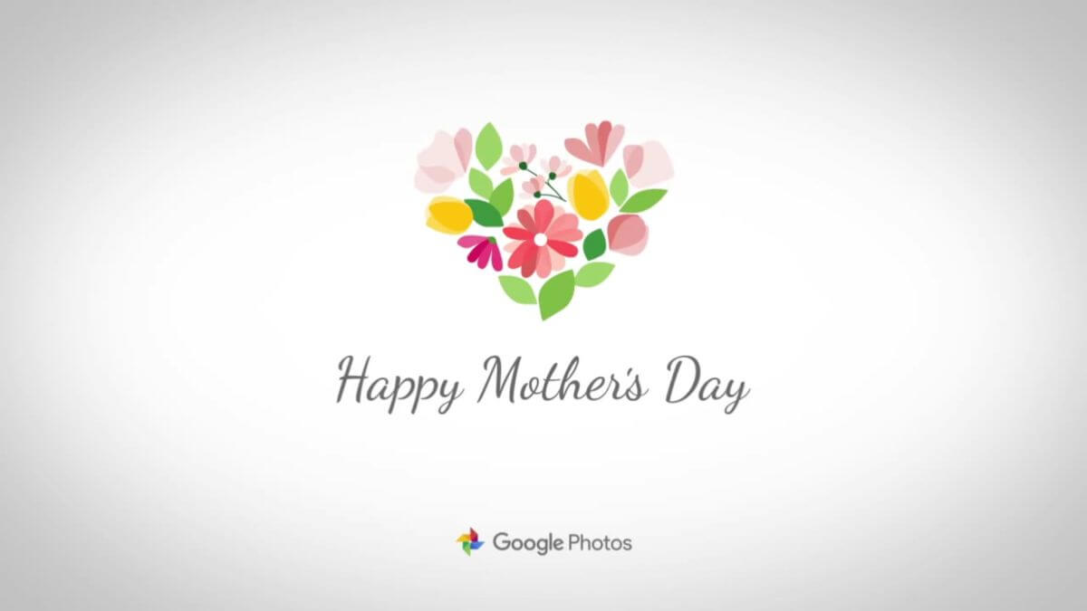 google photos mothers day