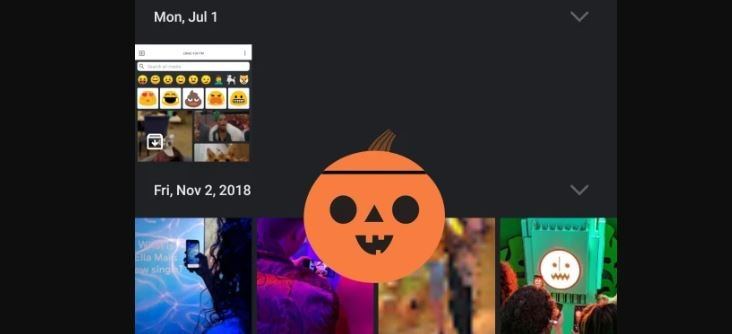 google photos pumpkin