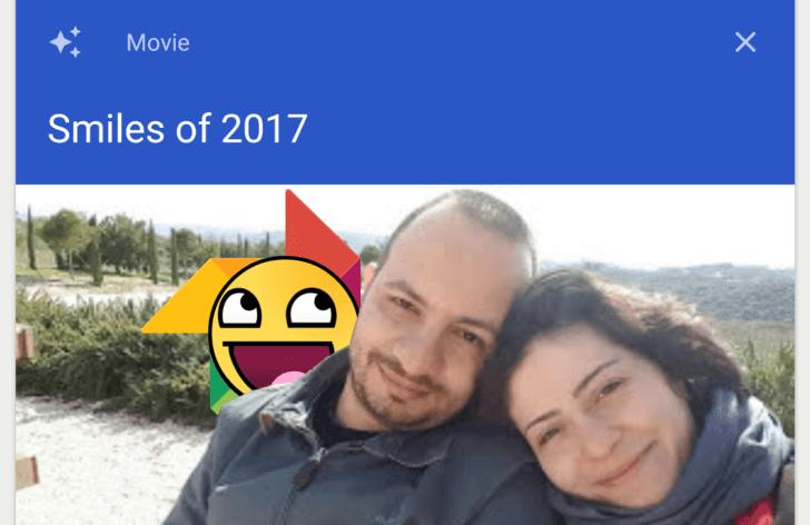 google photos smiles of 2017