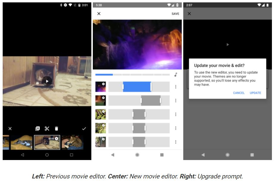 google photos video editor