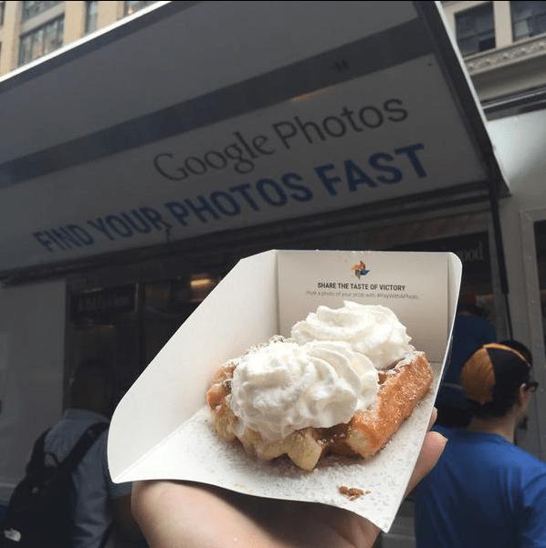 google photos waffle