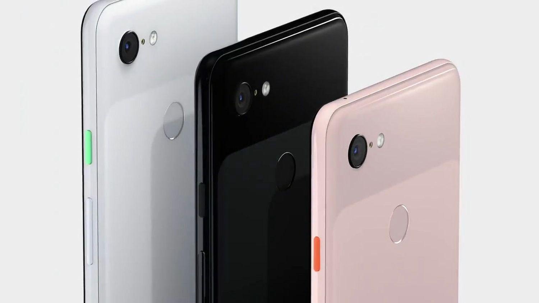 google pixel 3 black white pink