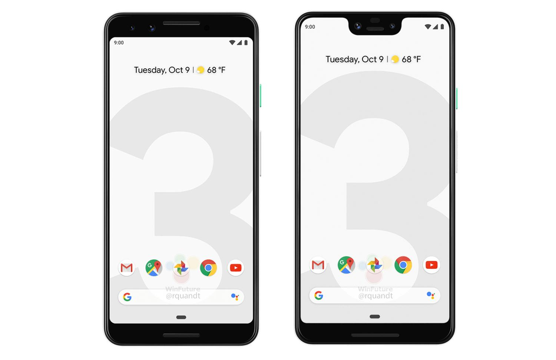 google pixel 3 phones