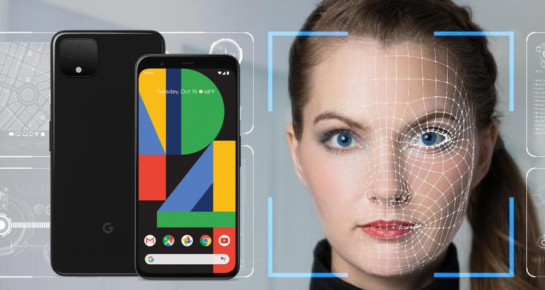 google pixel 4 gesichtserkennung