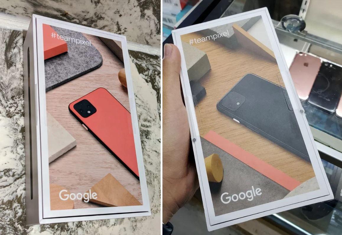 google pixel 4 karton