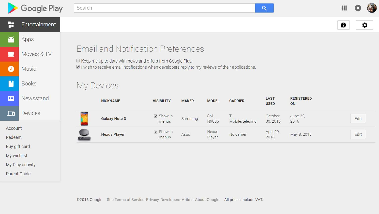 google-play-devices