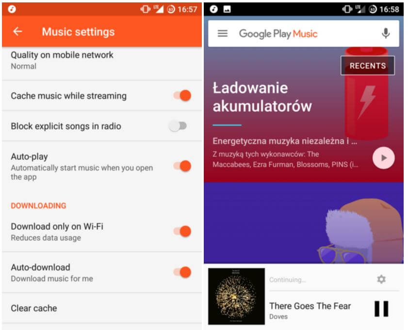 Google Play Music Autoplay