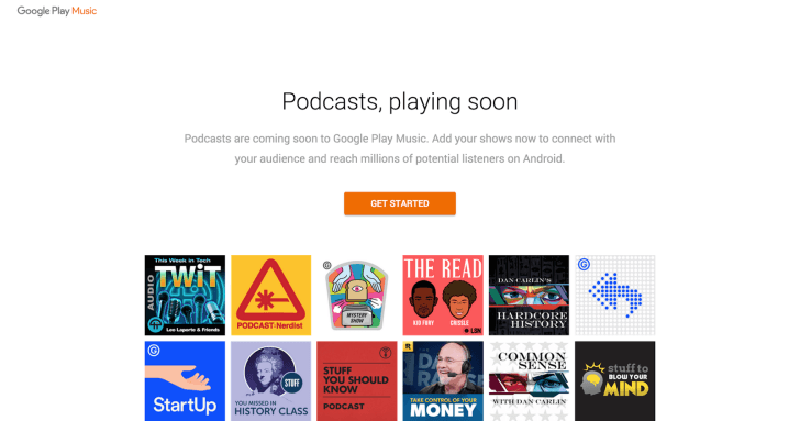 google play music podcast