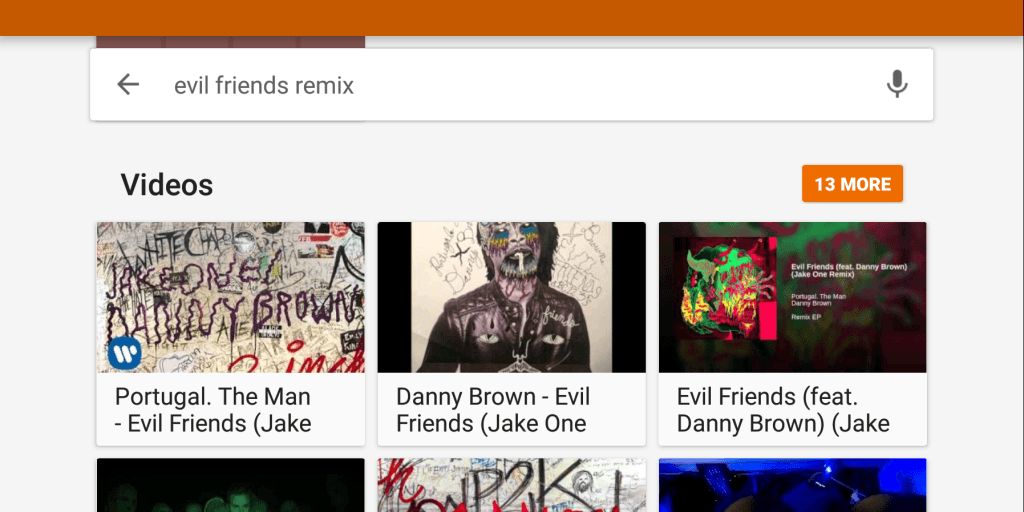 google play music videos