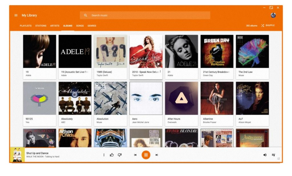 google play music youtube music desktop player