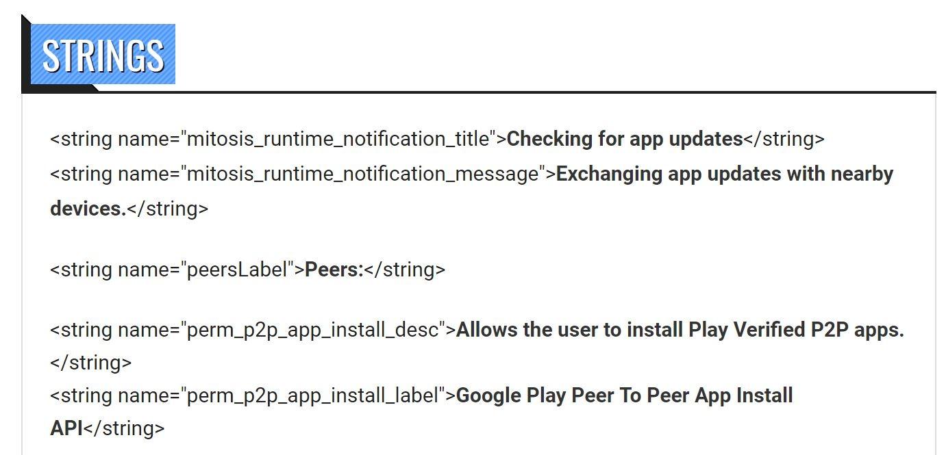 google play p2p