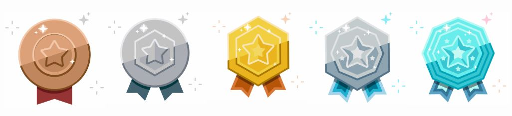 google play points badges