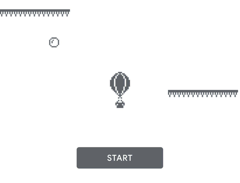 google play store hot air balloon game screensht