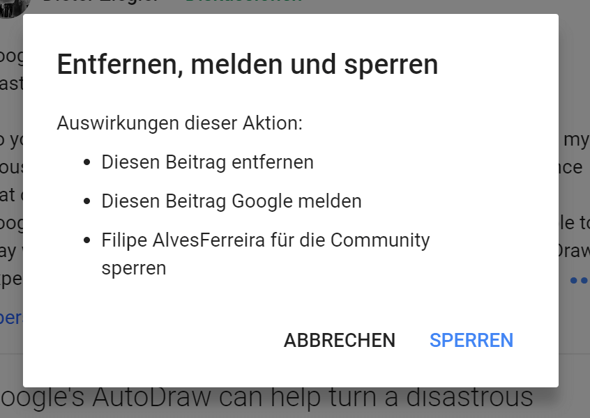 google plus spam 2
