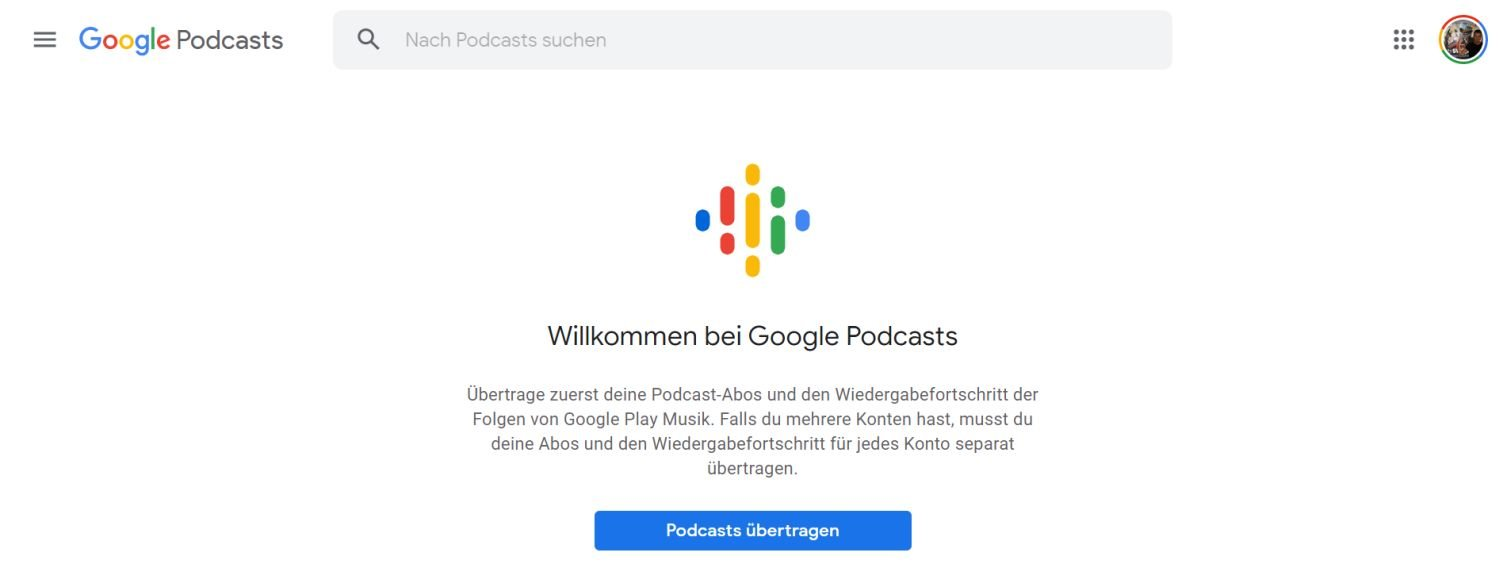 google podcasts google play music
