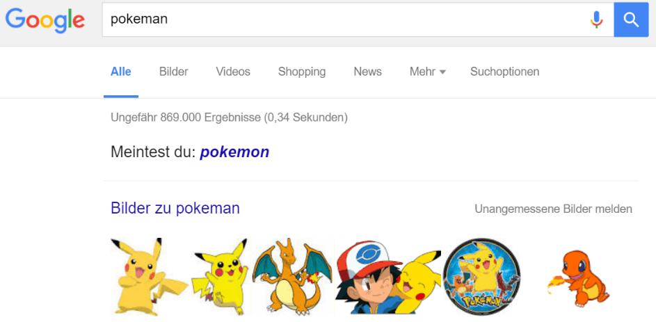 google pokeman