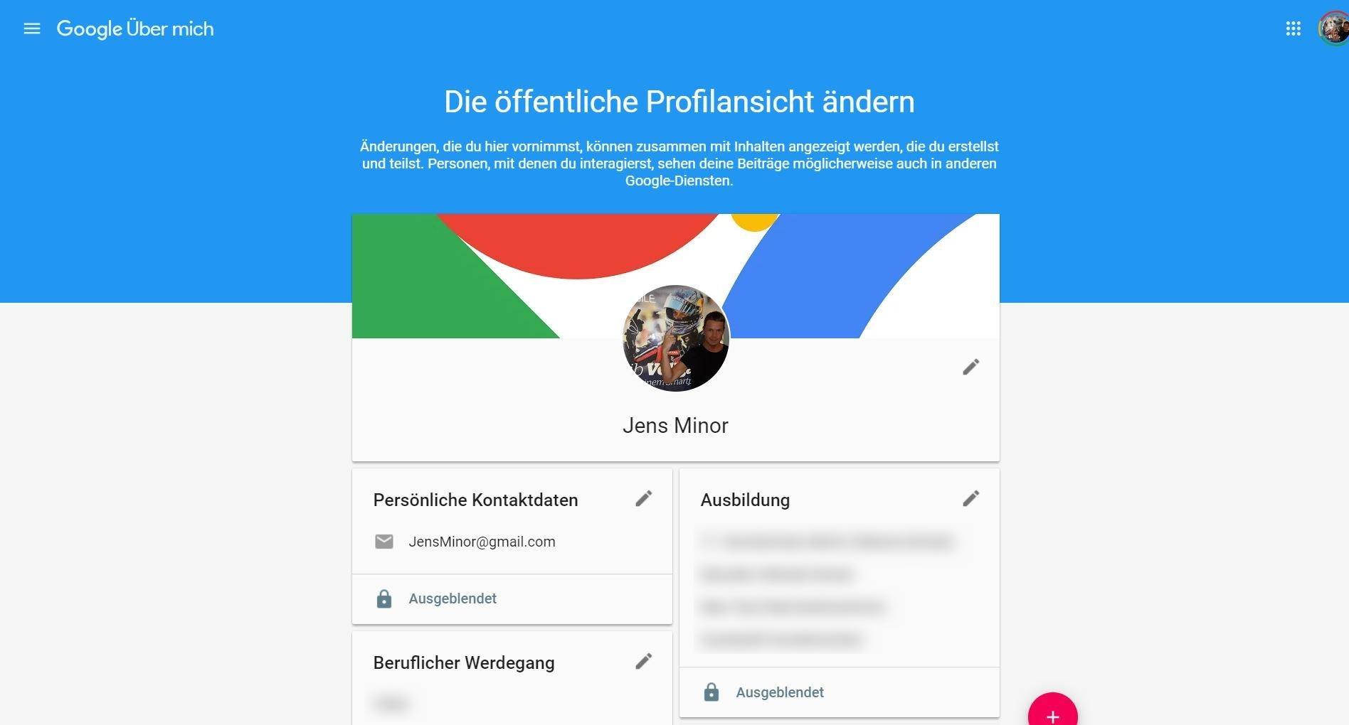 google profile jens
