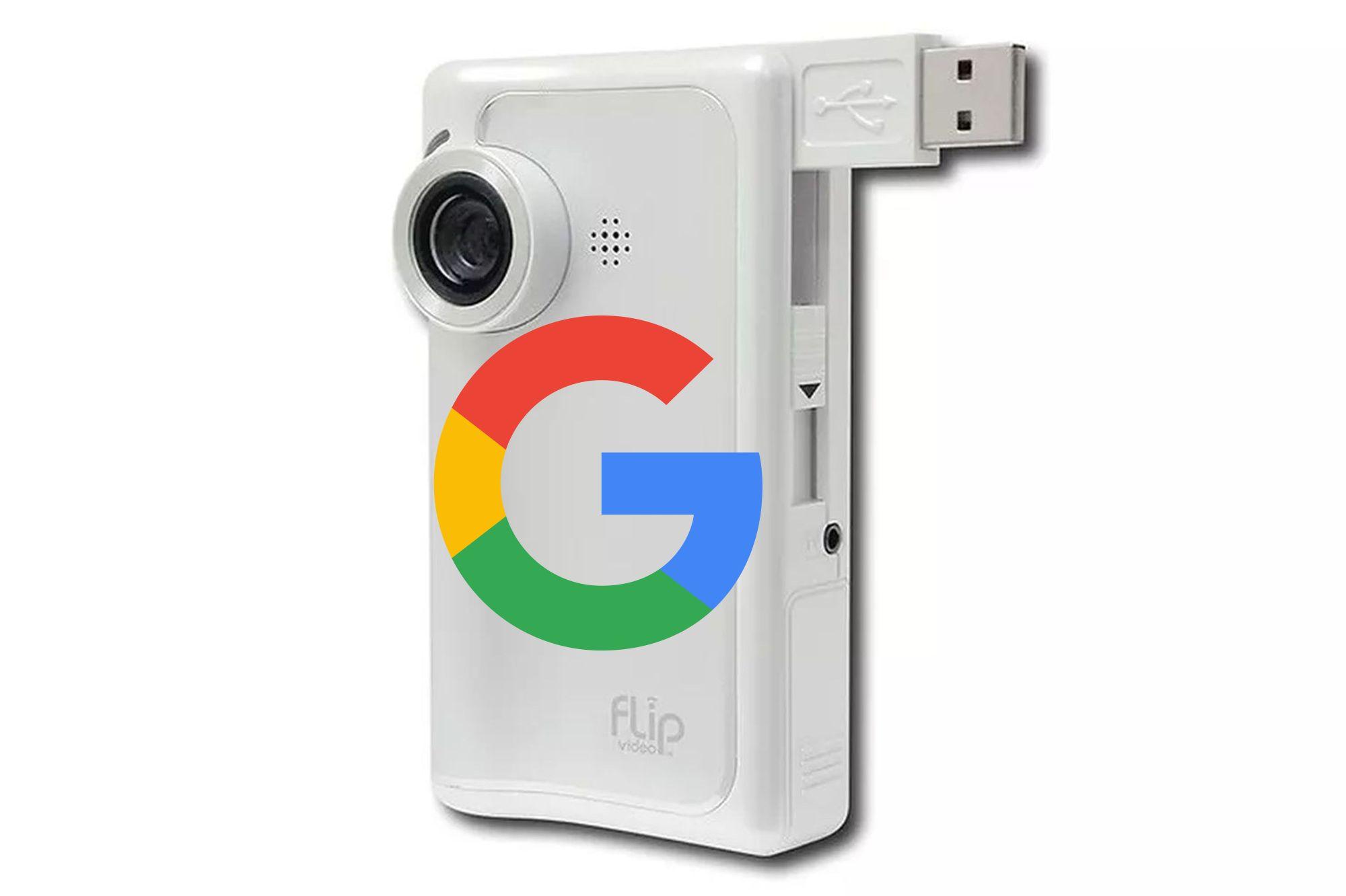 google pure digital flip video camera