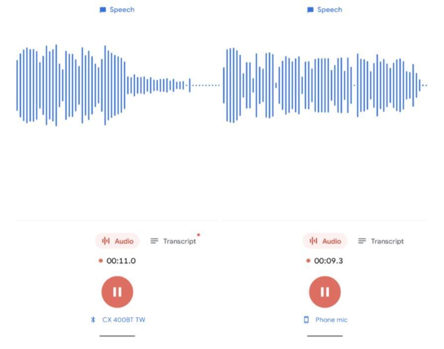 google rekorder audioquelle