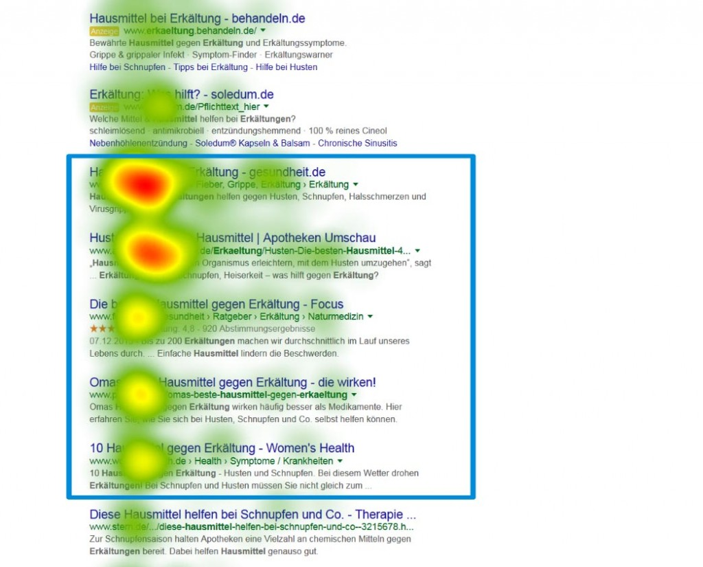 google search eyetracking