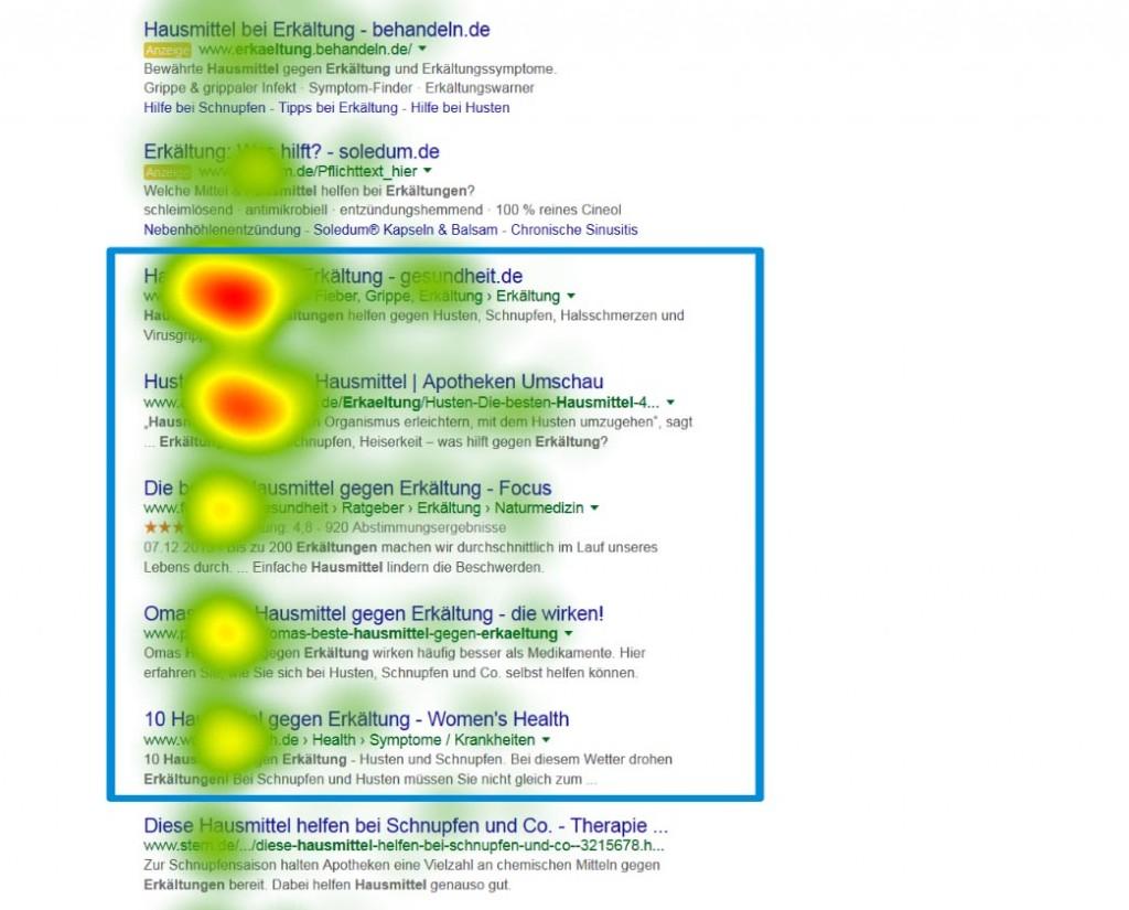 google search eyetracking