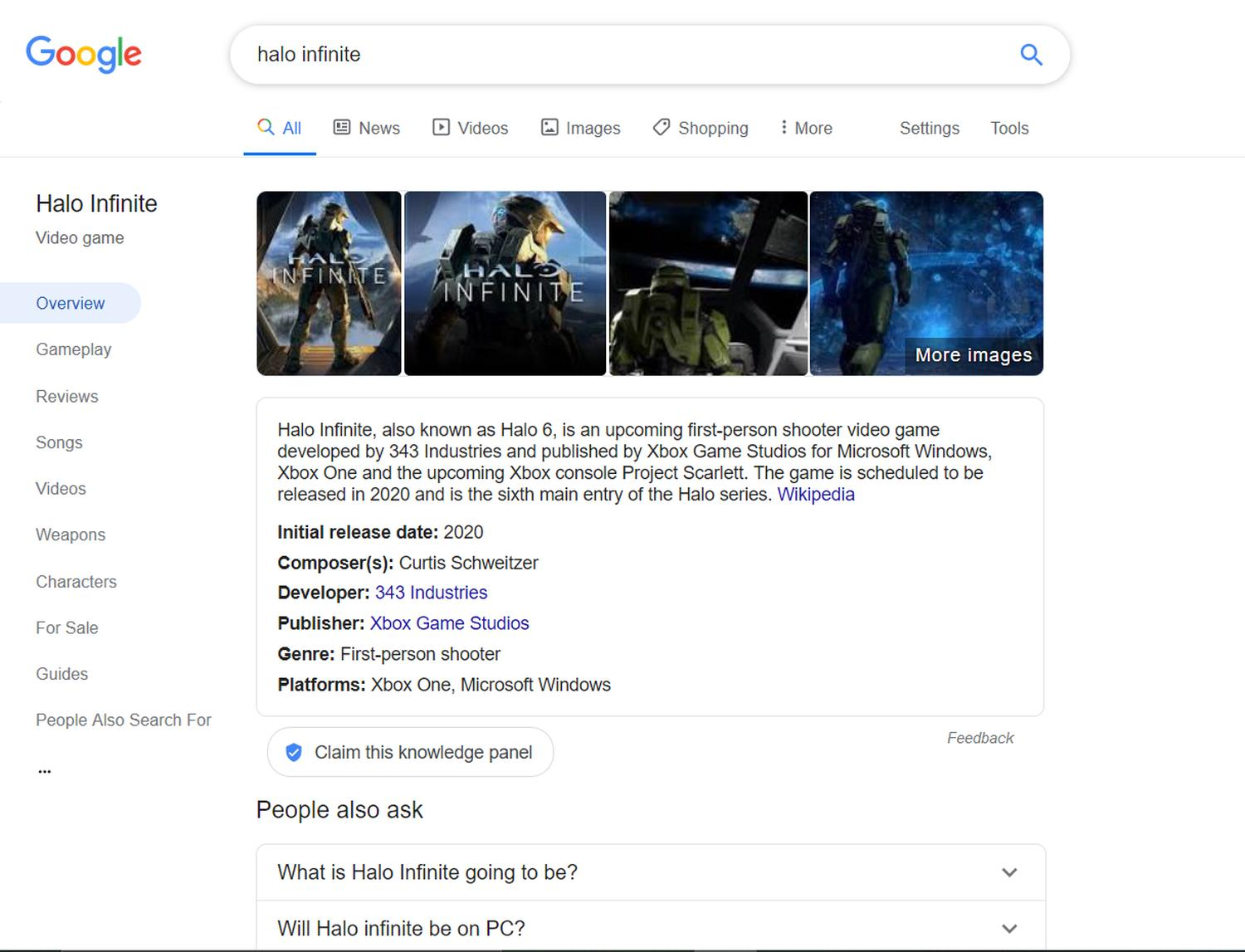 google search new topics desktop
