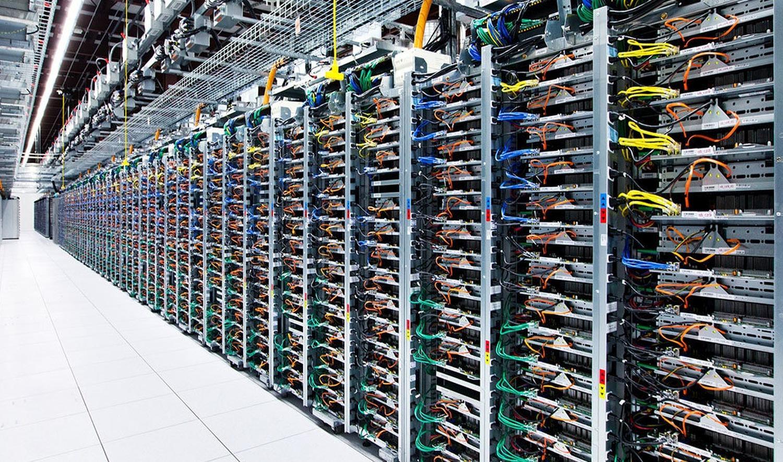 google server rack