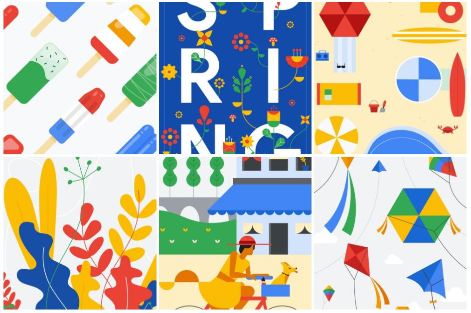 google spring wallpaper
