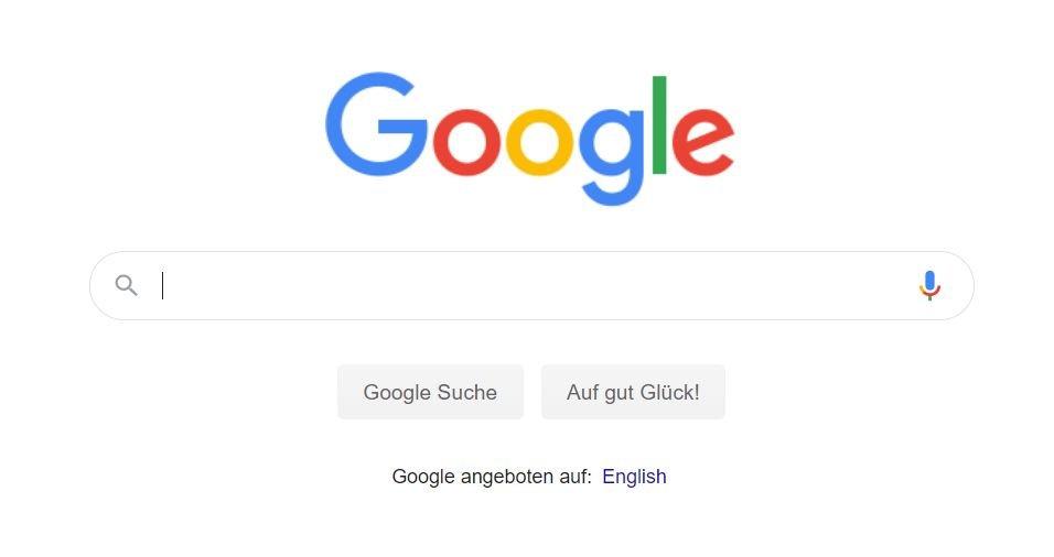 google startseite 2020