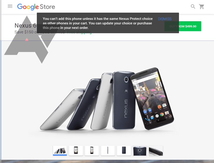 google store nexus protect