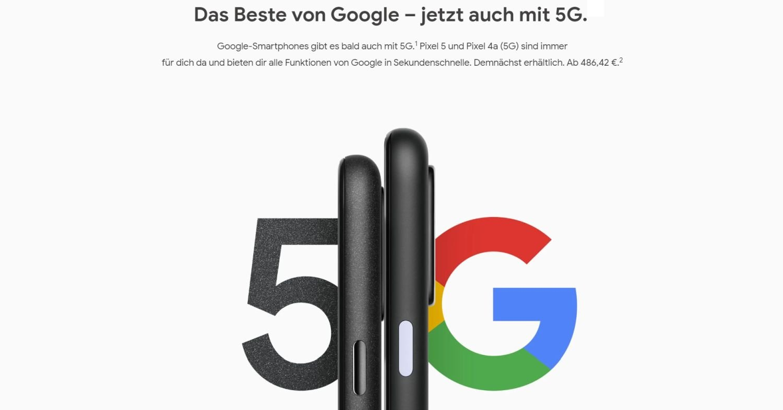 google store pixel 5