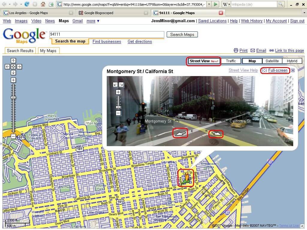 google streetview 2007