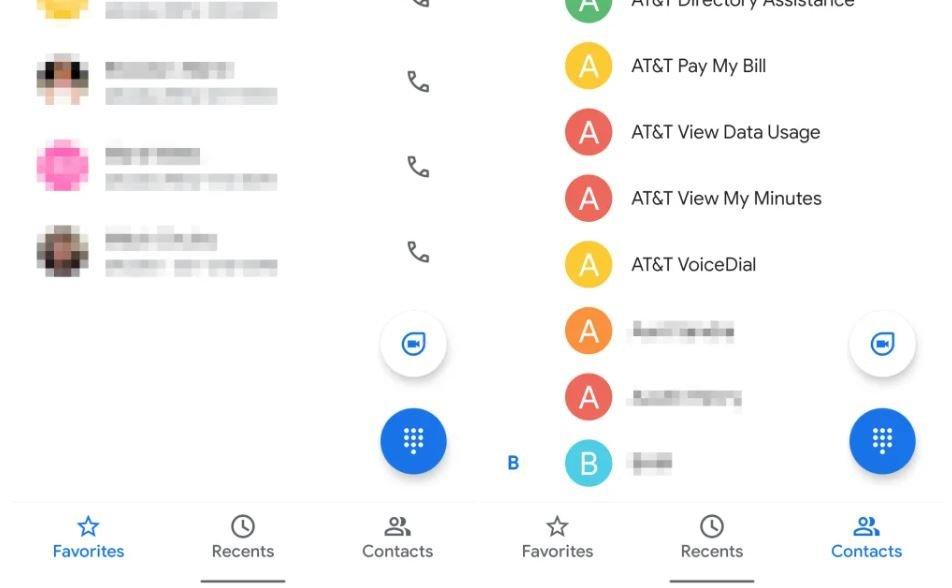 google telefon google duo button