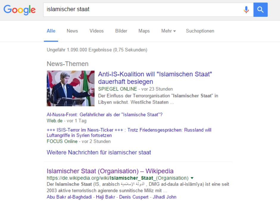 google terrorismus