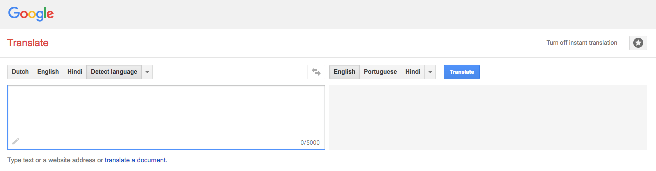 google translate alt