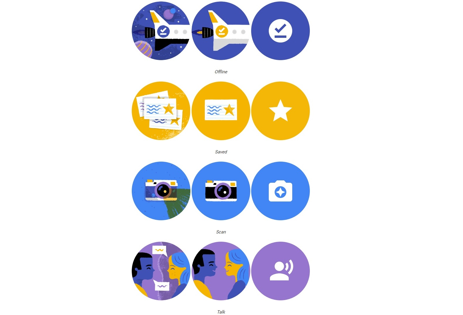 google translate new icons