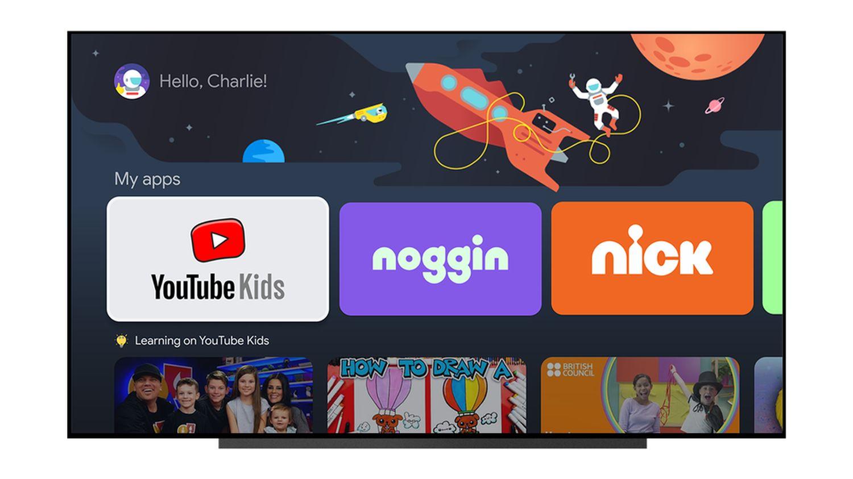 google tv for kids