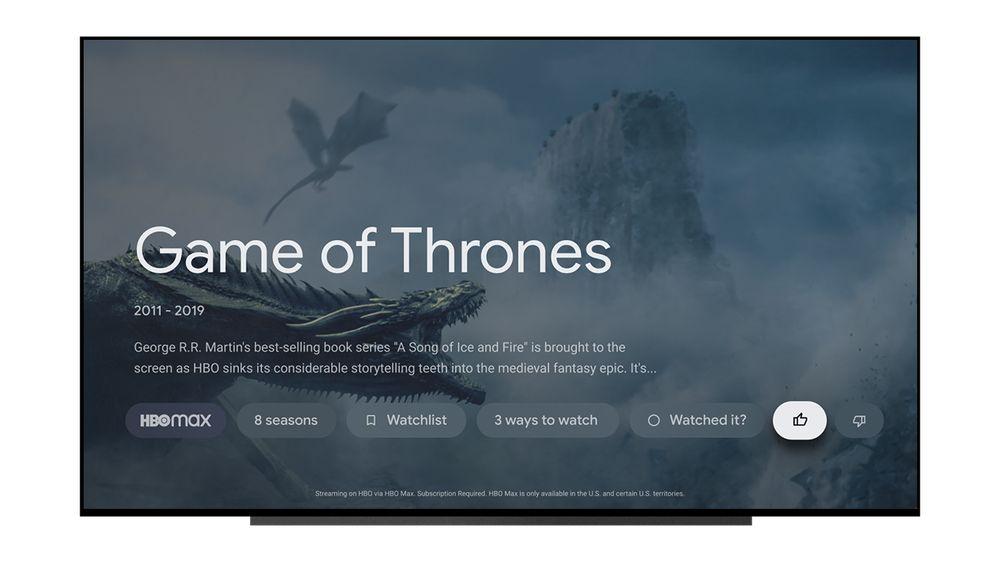 google tv rate