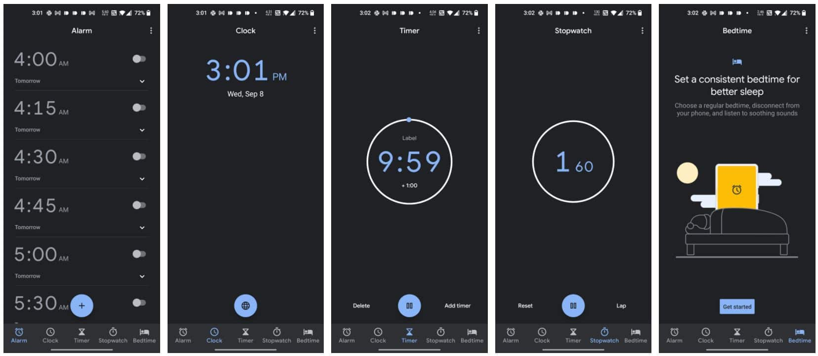 google uhr material you android 11