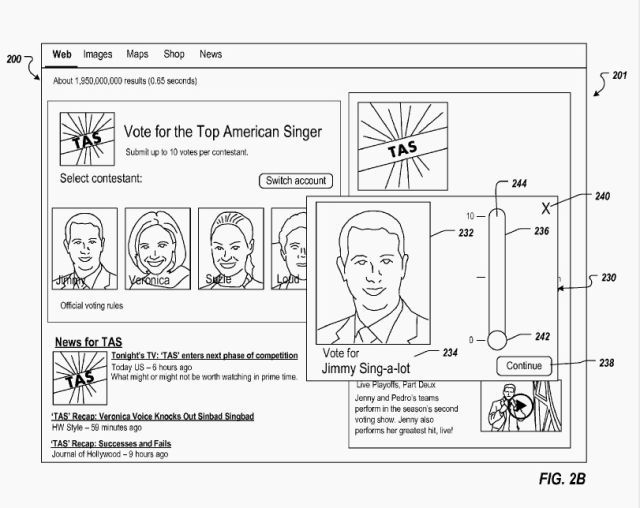 google vote patent